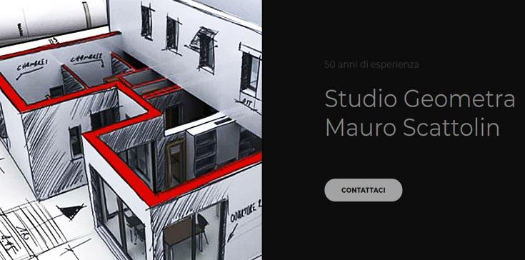 Sito Web Studio Scattolin - Progettazione. Perizie. Catasto. Cosulenza tecnica.