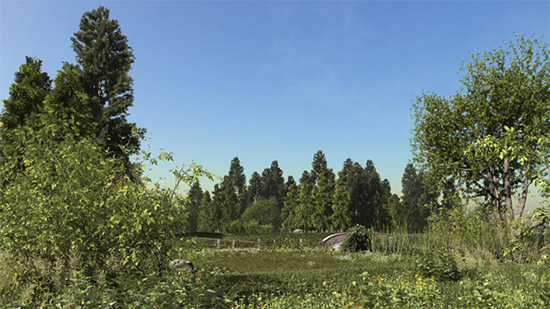 Creazione rendering parchi